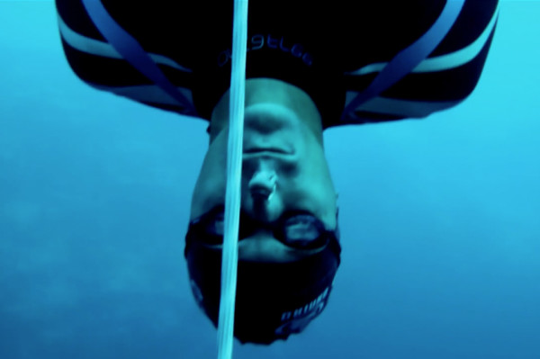 Director Matty Brown HECTOMETER William Trubridge's world-record 100 meter freedive.