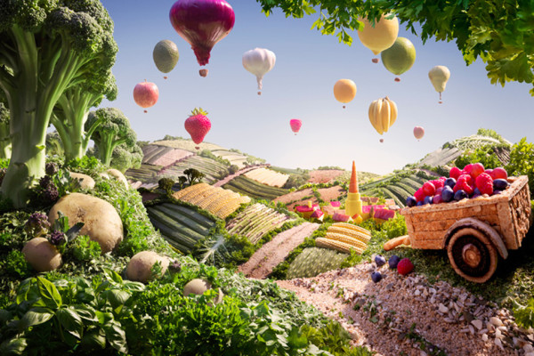 Carl Warner Food Scapes