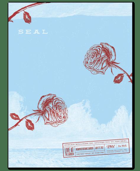 Seal Kiss_Rose Live Garden Memphis