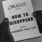 how to disappear vanishment made easy